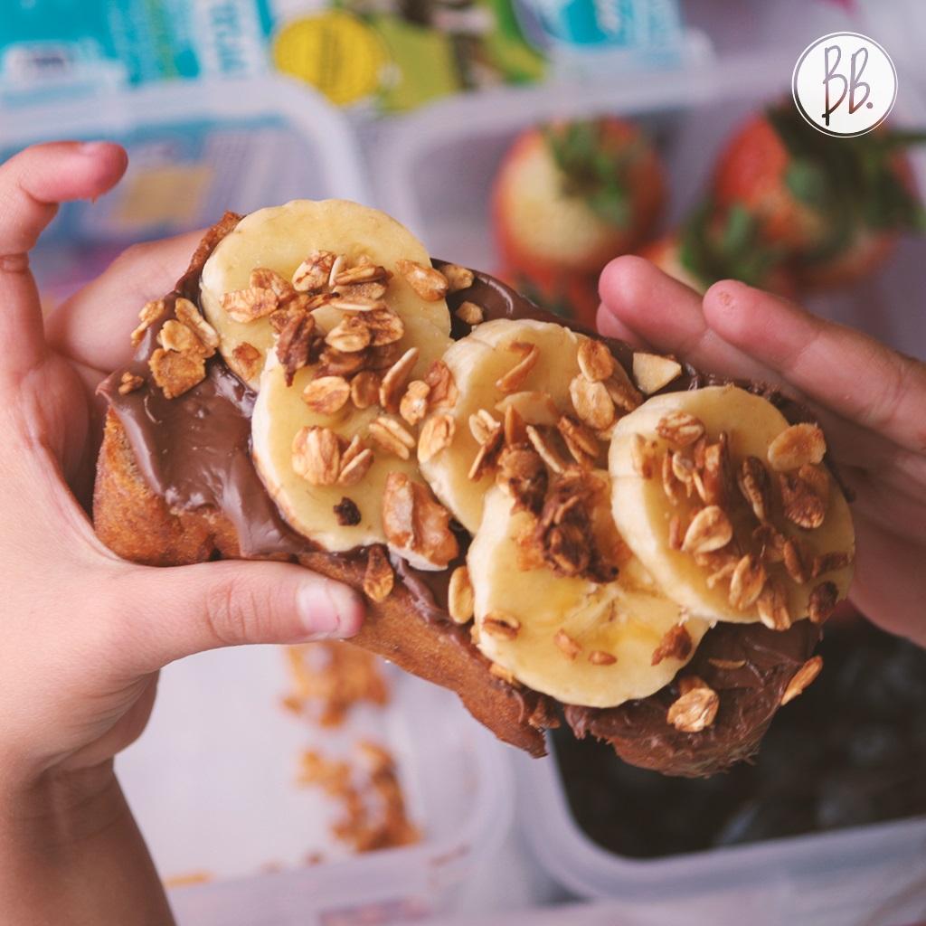 BananaBread - Chocolate Avena y Banano